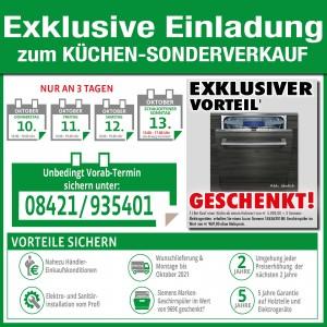 Exklusive Vorteile nutzen beim günstigen Küchen-Sonderverkauf in Eichstätt