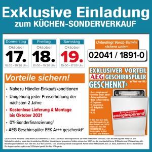 Super attraktive Vorteile beim Küchensonderverkauf bei Möbel Beyhoff, Gladbecker Straße 130, 46236 Bottrop