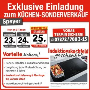2 Jahre Planungs- und Preissicherheit, Induktionskochfeld geschenkt, gratis Lieferung + Montage bis Januar 2022: Einrichtungshaus StrohmeierGilb, 67346 Speyer