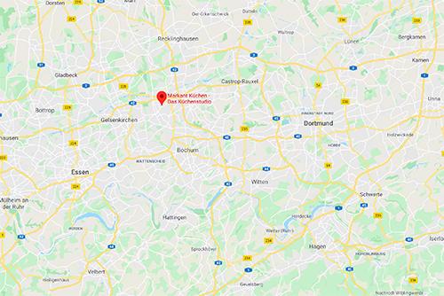 Küchensonderverkauf bei Markant Küchen, Berliner Straße 29, 44649 Herne-Wanne