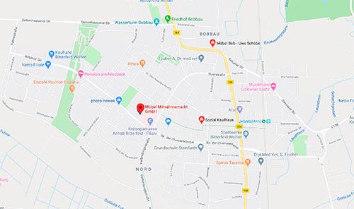 Küchen-Sonderverkauf bei Möbel Mit Straße der Chemiearbeiter 12, 06766 Wolfen